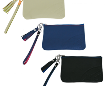 STI - Genuine Seat Leather Zip Pouch