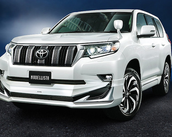 Modellista - Land Cruiser Prado Aero Kit