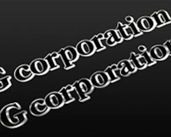 G-Corporation - Letter Form Sticker