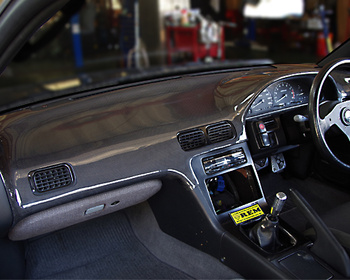 ChargeSpeed - Nissan S13 Silvia Dashboard Cover