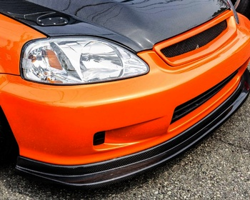 Tactical Art  - Carbon Front Lip Spoiler for Late Term EK