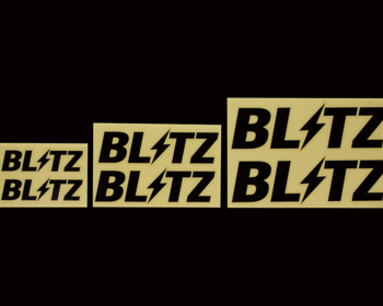 Blitz - Logo Stickers