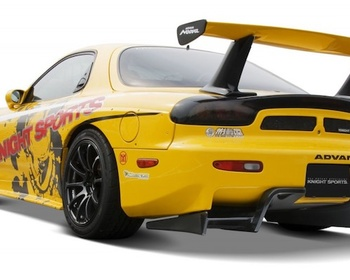 Knight Sports - FD3S Rear Diffuser for Normal Bumper or Rear End FInisher