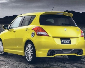 Suzuki - Genuine Suzuki Swift Sport ZC32S Accessories