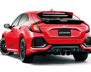 Mugen - Sport Exhaust System for Civic FK7