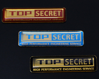 Top Secret - Mini Emblem Set