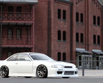 Car Make T&E - Vertex Lang - Silvia S14 S1 Body Kit