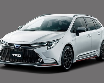 TRD - Corolla Touring Aero Parts