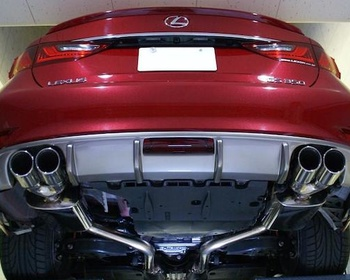 Lexon - L:Exhaust Quad for Lexus GS