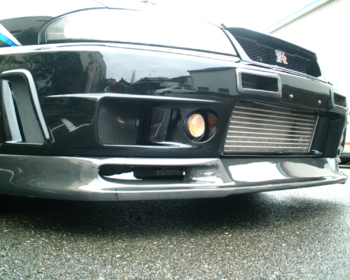 Car Shop F1 - R33 GTR Front Lip Spoiler & Diffuser
