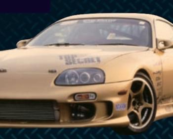 Top Secret - G-Force Supra Aero Parts
