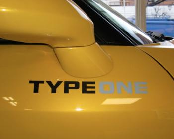 Spoon - TYPE ONE Logo Sticker
