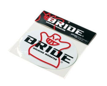 Bride - Oval Sticker