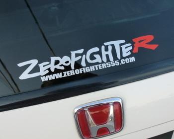 ZEROFIGHTER - Zero Fighter Logo Sticker