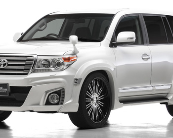 Wald - Sports Line Black Bison Edition for Land Cruiser