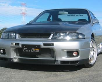 East Bear - Masterpiece R33 N1 Type Bumper Spoiler Set