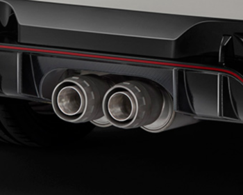 Mugen - Sports Exhaust System - Civic FK8