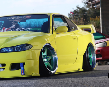 326 Power - Gacha-bari Medium S15 Silvia Over Fenders