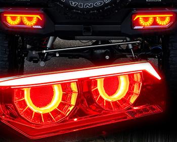 Crystaleye - JB64 Jimny/JB74 Jimny Sierra Vulcan Fiber LED Tail Lamps