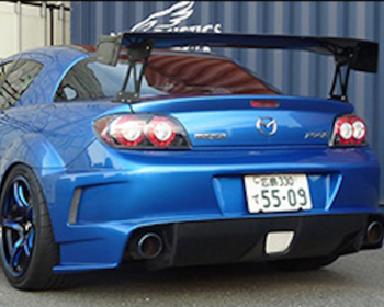 Leg Sport - Club Sport Rear Diffuser Bumper for RX8 (late)