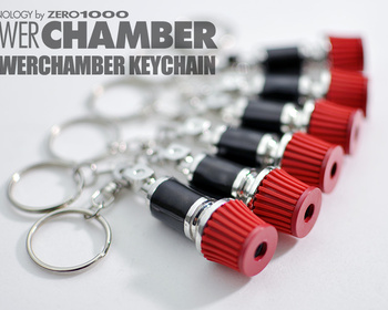 Top Fuel - Power Chamber Keychain