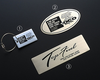 Top Fuel - Keychain Emblem