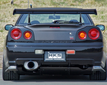 HKS - Super Turbo Muffler Ti