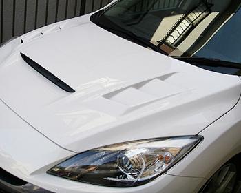 Odula - Mazdaspeed Axela BL3FW Cooling Bonnet