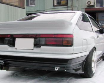 J-Blood  - AE86 - Rear Under Spoiler