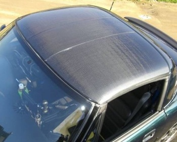 Toyoshima Craft - Original Carbon Roof Panels for Cappuccino