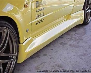 C-West - Nissan SKYLINE GT-R BNR34 Side Step II