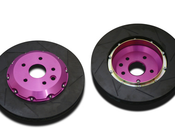 Biot - Rear Genuine Replacement 3-Piece Rotors