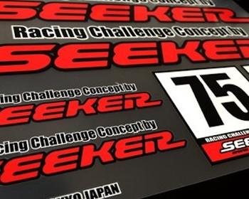 Seeker - Racing Challenge Concept Sticker Sheet