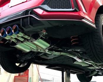 Seeker - SES Muffler Kit TRIDENT for FK8 Civic Type R