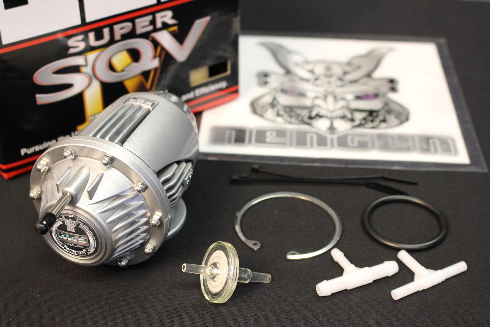 HKS SSQV4 BOV SUPER SEQUENTIAL SSQV SQV IV Turbo Blow Off Valve New Silver