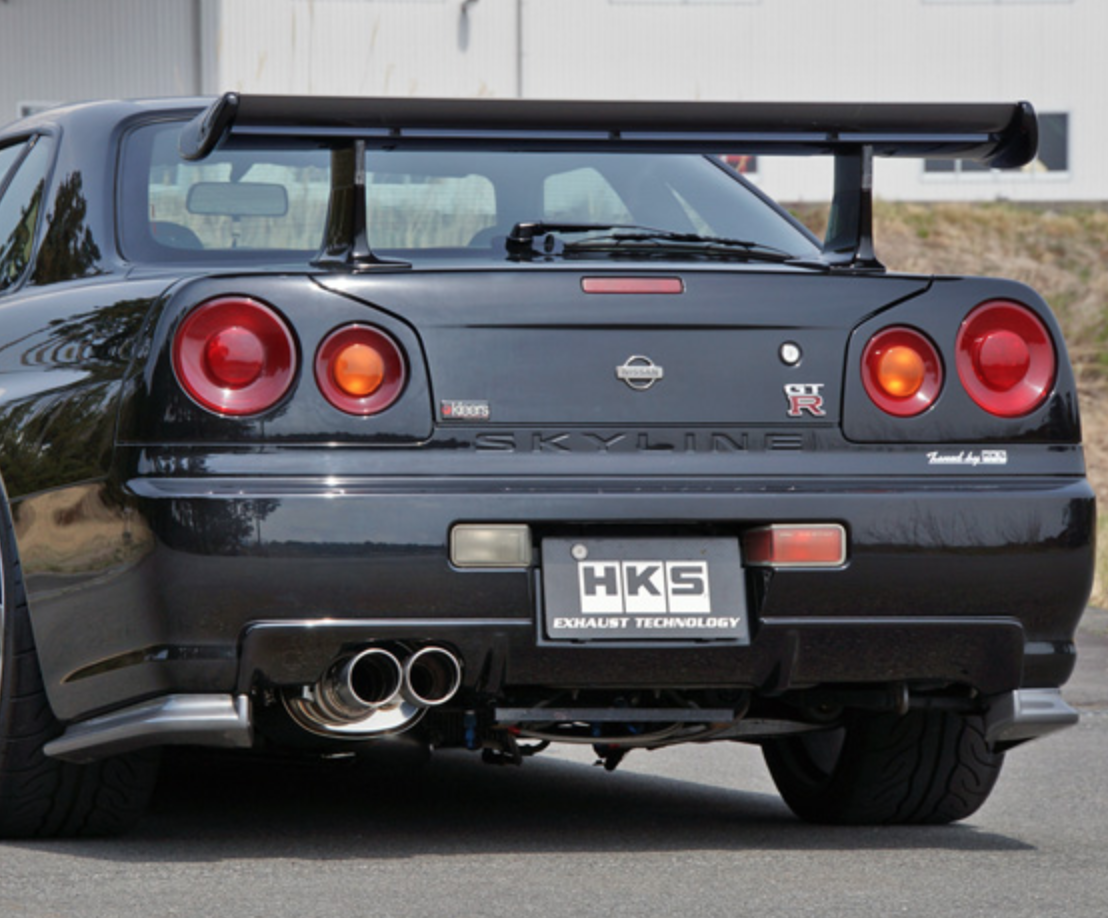Wings GTR33 rear +90 mm for Nissan Skyline R33 extension
