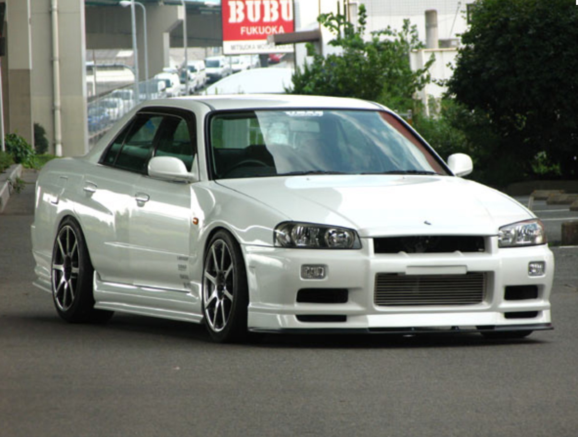 Uras Type R R34 Skyline 4 Door Nengun Performance