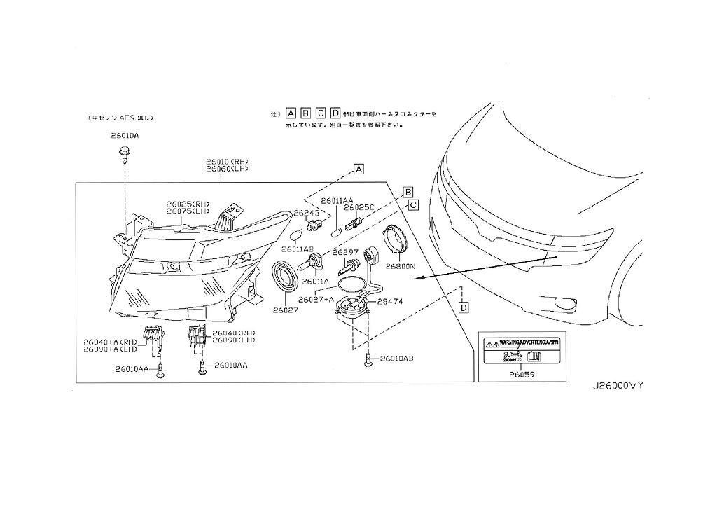 Genuine Elgrand E52 OEM parts supplied from Japan - Nengun