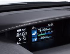 Subaru - XV - GPE - Multi Function Display Hood - Silver Stitch - J1317-FJ410