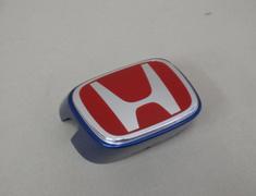Honda Front Badge RED - Blue Body - Category: Exterior - 75710-S6M-Z01ZA