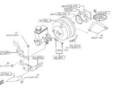 Brake Booster Hose - Category: Brakes - F100-43-640B