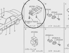 Switch - Category: Exterior - 25750 - 25401-22U00