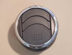 Chrome plastic vent rings set of 5 - Category: Interior - 85F40 /66590