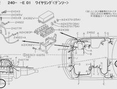 Engine Main Harness EGI - Category: Engine - B4011-05U01