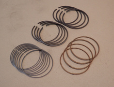 4 X Piston Ring Set for O/S 0.5mm (Included 4 Piston Ring Set) - 13013-16090