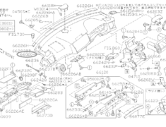 Installment Panel - Category: Interior - 66020 - 66049-AG000