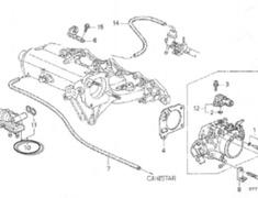 Honda DC2 Idle Control Valve - 36450-P6T-S01