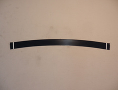 Black Trim around windscreen - Category: Exterior - 72425-SS1-003