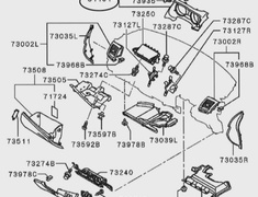 Bezel Combination Meter - Category: Electronics - 8060A046XA