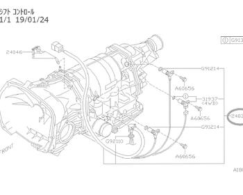 Subaru - Transmission Sensor and Wring ASSY